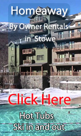 ski in out by owner vacation rentals in stowe