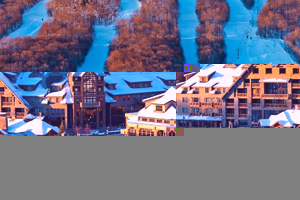 stowe ski resort ski in and out  hotels
